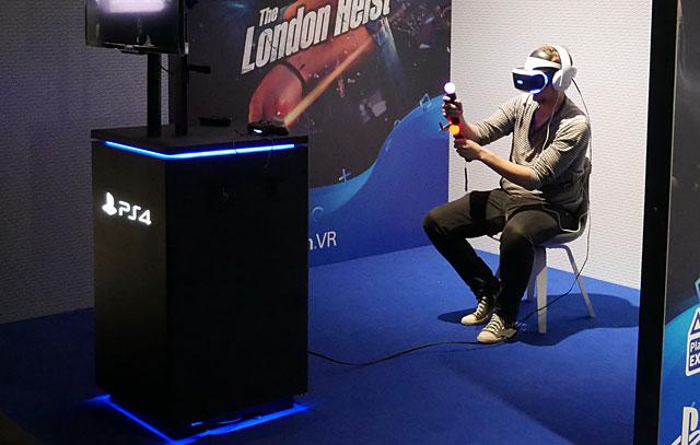 VR-pelaaminen